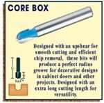 Core Box Shear Cut