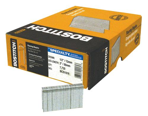 Bostitch bcs1516 hardwood flooring staples 2 for Wood floor nails or staples