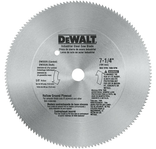 plywood circular saw blade