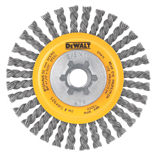 Dewalt Dw4925b Carbon Knotted Wire Wheel 4 Quot 6 Pak