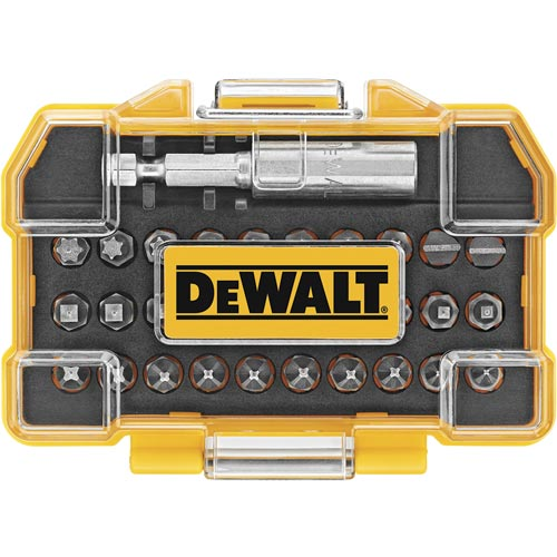 dewalt dwax100 screwdriving set with tough case. Black Bedroom Furniture Sets. Home Design Ideas