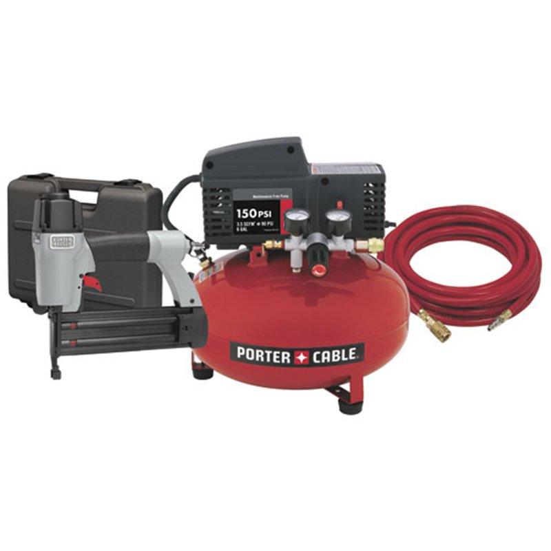 Porter Cable Cfbn200a Compressor Nailer Kit