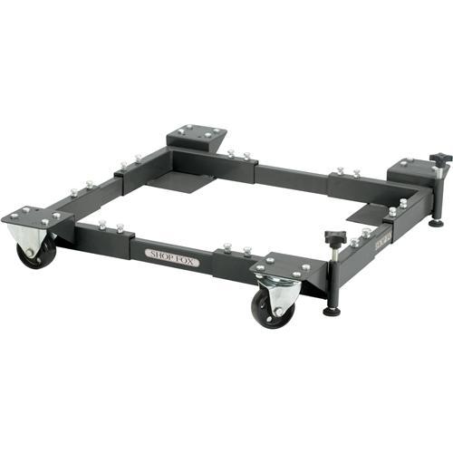 Shop Fox D2058a Adjustable Mobile Base Extra Heavy Duty