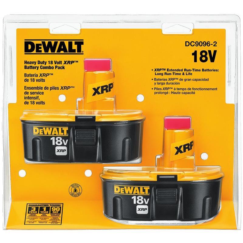 DeWALT DC9096-2 Battery Combo Pack 18V XRP