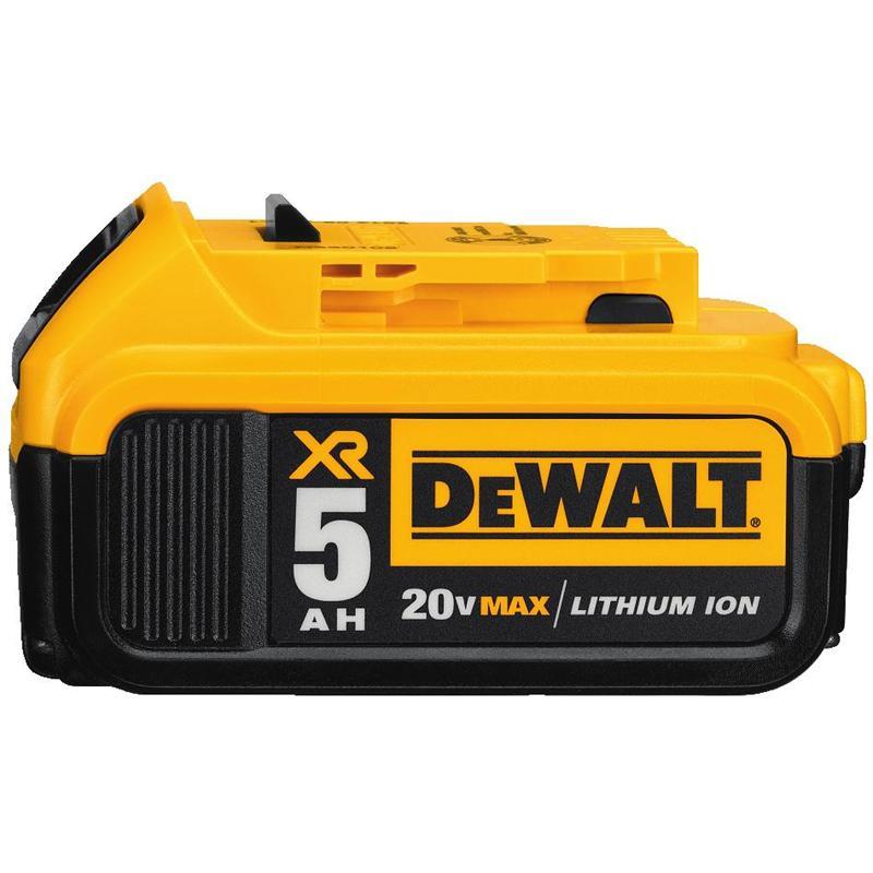 Dewalt Dcb205 20v Max Premium Xr 5 0ah Lithium Ion