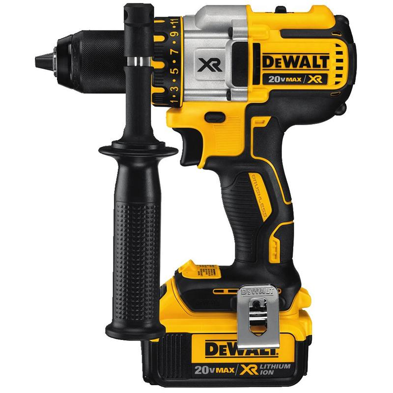 Dewalt dcd990m2 20v max brushless drill driver kit for Dewalt 20v brushless motor