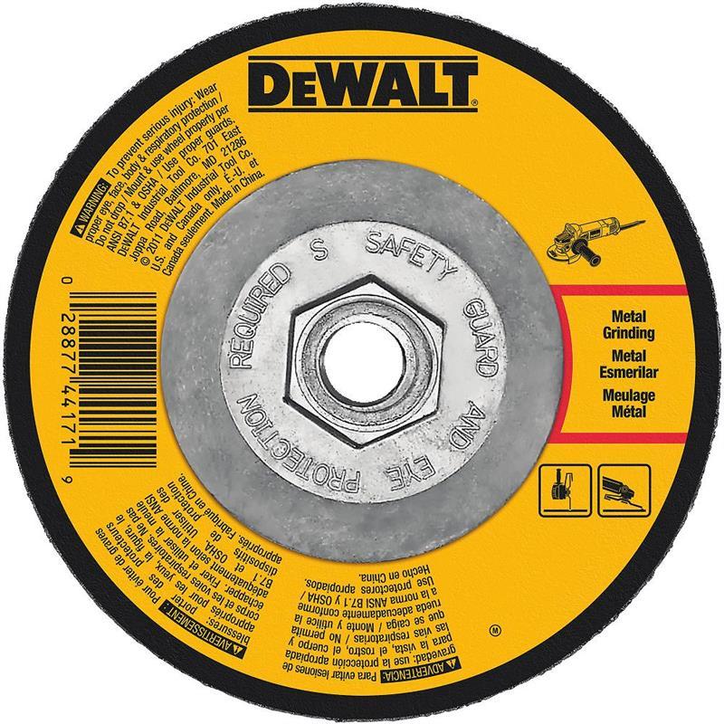 DeWalt DW4542 Metal Grinding Wheel 4 1 2 X 5 8 11