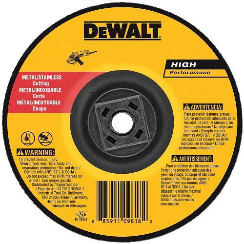 DeWalt DW8426H Metal Cutting Wheel 6