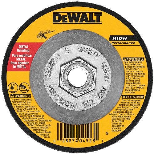 DeWalt DW8755 Metal Cutting Notching Wheel 6 X 5 8 11