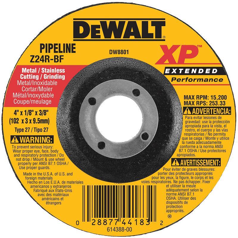 DeWalt DW8801 Metal Cutting Grinding Wheel 4