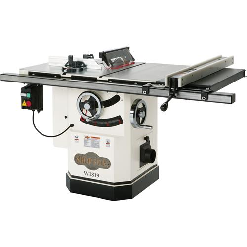 Shop Fox W1819 Cabinet Saw With Riving Knife 10
