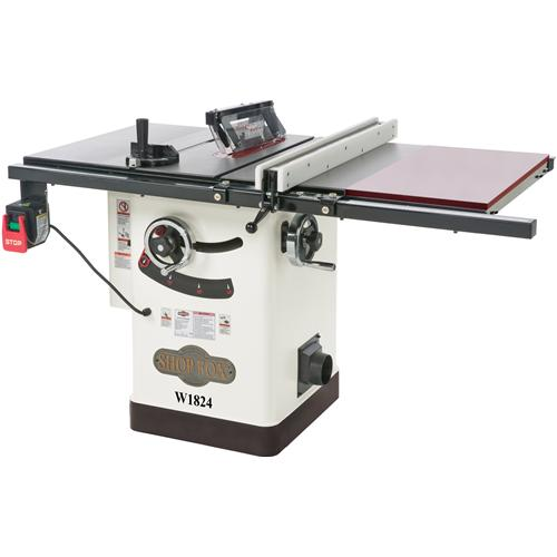Shop Fox W1824 Hybrid Table Saw W Extension Table