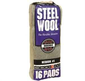 Steel Wool Pad, No 1 Grit