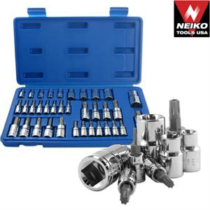 35pc Torq Bit and E-Socket Set