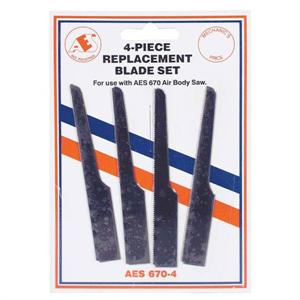 4 pc. Air saw Replacement Blades