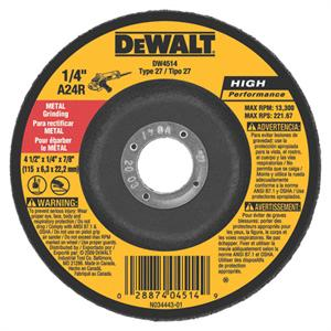 DeWalt DW4514 Metal Grinding Wheel 4-1/2""