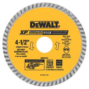 Continuous Rim Diamond Blade 4-1/2""