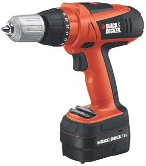 Black and Decker 24 Volt Cordless Drill | eBay