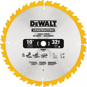 "Saw Blade General Purpose 10"" - 32T"