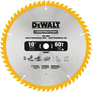 "Saw Blade Fine Finish 10"" - 60T"