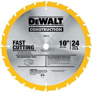 "Saw Blade Fast Ripping 10"" - 24T"