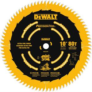 "Saw Blade Fine Crosscutting 10"", 80T"