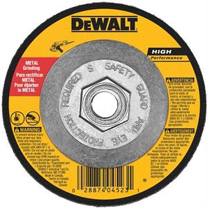 "Metal Cutting-Notching Wheel 5"" x 5/8""-11"