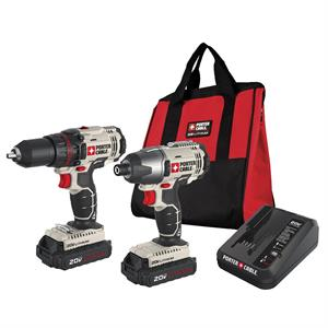 20V Max Lithium-Ion Drill Driver and Impact Drill K