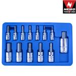 24ct., 13pc Hex Bit Socket Set, SAE