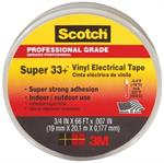 Scotch Super Electrical Tape Black