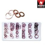 24ct., 110-Piece Copper Washer Assortment