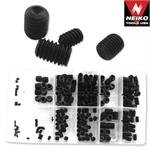 12ct., 200pc Socket Set Screw Assortment