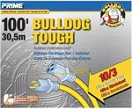 Bulldog Extension Cord 100ft. 10/3 SJTOW