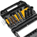 "DeWalt DW22812 Impact Ready Socket Set 1/2"" Dr."