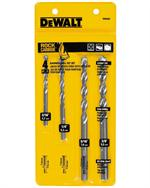 Percussion Masonry Drill Bit Set