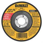 DeWalt DW8758 Metal Cutting-Notching Wheel 9