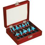 12 Pc. Router Bit Set - 1/4
