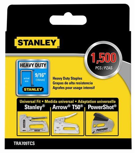 Stanley 1-TRA704T Heavy Duty Staple 6 mm Pack de 1000