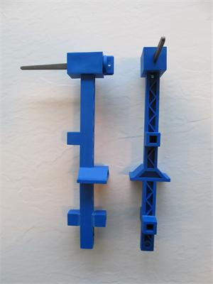 Long Blue Line Stretcher
