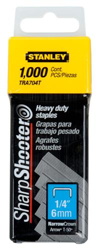 "1/4"" Light Duty Staples"