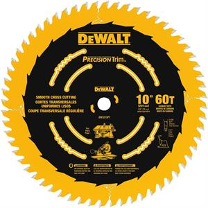 "Saw Blade Smooth Crosscutting 10"", 60T"