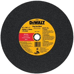 "Metal Chop Saw Wheel 14"" x 1"""