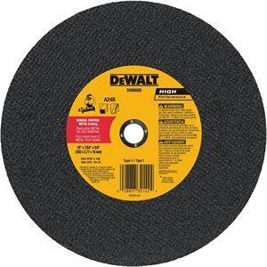 "Metal Chop Saw Cutting Wheel 10"" x 5/8"""