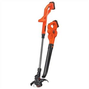 "Black & Decker LCC222 20V MAX* Lithium 10"" String Trimmer & Hard Surface Sweeper Combo Kit"