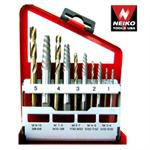 40ct., 10pc Screw Extractor and Right Hand Drill Bits