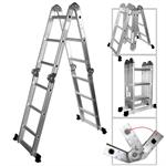 Multi-Purpose Aluminum Folding Ladder